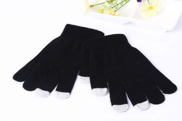 Перчатки для сенсорных экранов Touch Gloves black