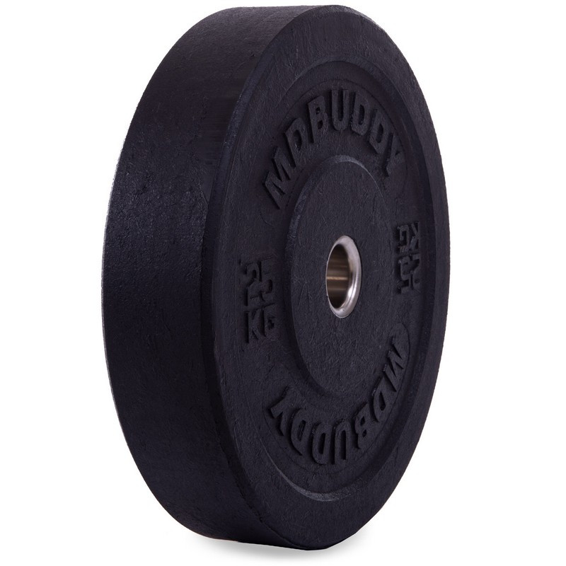 Блины 51мм 25кг (диски) бамперные для кроссфита Zelart Bumper Plates