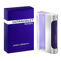 Туалетная вода для мужчин Paco Rabanne Ultraviolet Man 100мл ОРИГИНАЛ