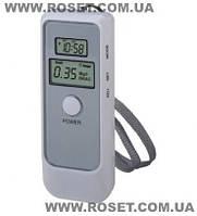 Алкотестер цифровой Digital Alcohol Tester with LCD Clock