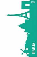 """Трафарет многоразовый самоклеющийся, Фоновый13*20 см, №1202, Серия """"Архитектура"""" ROSA Talent"""
