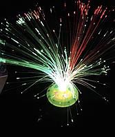 Светильник «Веник» с круглой подставкой ,4 вида, 7 режимов света, батар. // (А41713)