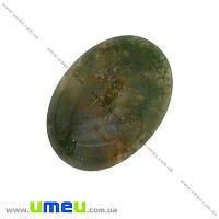 Кабошон нат. камень Агат индийский, Овал, 25х18 мм, 1 шт (KAB-013990)
