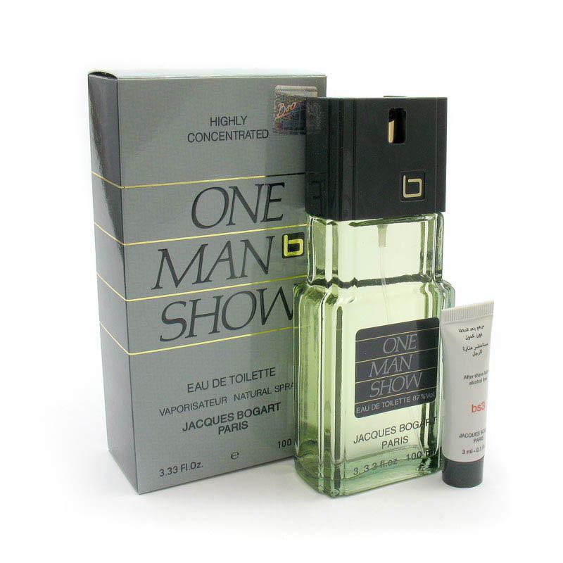 Туалетная вода для мужчин Jacques Bogart One Man Show (с кремом) 100мл - SANAS Parfum Интернет магазин парфюмерии в Харькове