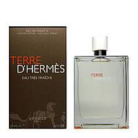 Туалетная вода для мужчин Hermes Terre Eau Tres Fraiche 125мл ОРИГИНАЛ