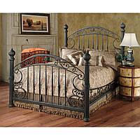 Металлическая кованная кровать