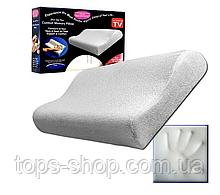 Ортопедическая подушка с эффектом памяти Memory Pillow Pro для здорового сна с памятью анатомическая