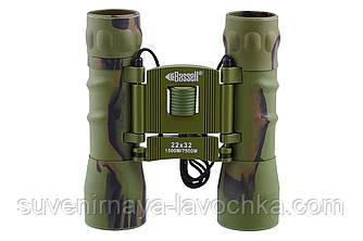 Бінокль 22x32 - BASSELL (green) Фірмовий