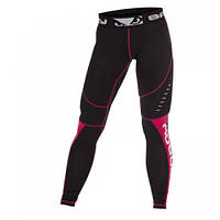 Компрессионные штаны женские Bad Boy Leggings Black/Pink L