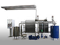 Пастеризационно-охладительная установка А1-ОКЛ-10 (10 м³/ч) для сока, воды