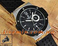 Мужские наручные часы Hublot Quartz Big Bang Silver Black