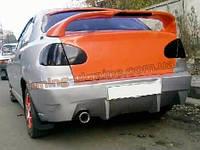 Задний BMW Sport спойлер на Chevrolet Lanos (ZAZ Chance)