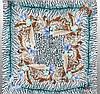 Стильный женский шелковый платок размером 50*50 см VENERA (ВЕНЕРА) C270089-15