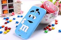 Чехол M&M's для Samsung Galaxy S4 Mini I9190 голубой, фото 1