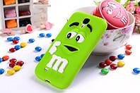 Чехол M&M's для Samsung Galaxy S4 Mini I9190 зеленый, фото 1