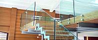 Стеклянные ограждения лестниц, балконов, террас