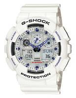 Часы Casio G-Shock GA-100A-7AER (G-Shok Касио Г-Шок G Shock shok)