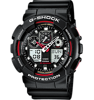Часы Casio G-Shock GA-100-1A4ER (Касио Джи-Шок)