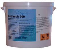 Многофункциональные таблетки хлора MultiFresh 200, 5 кг