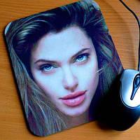 Печать на коврике для компьютерной мышки 3мм  с Вашим  фото !