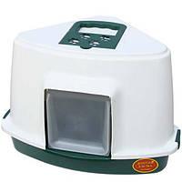 MODERNA TRIANGLE.56*43*40 см. Туалет - домик  для котов и маленьких собак
