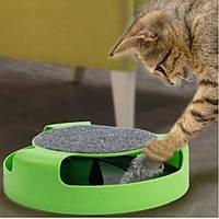 Іграшка для котів Кіт і Миша з когтеточку Fine Pet SKL11-277525