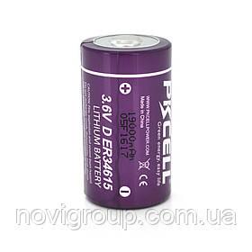 Батарейка літієва PKCELL ER34615, 3.6V 19000mah, OEM