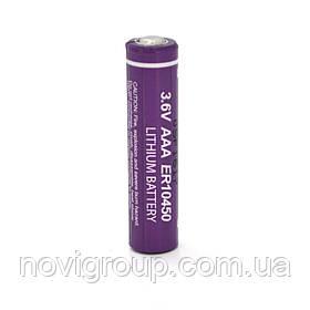 Батарейка літієва PKCELL ER10450, 3.6V 800mah, OEM