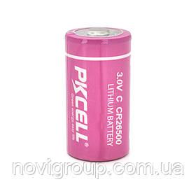 Батарейка літієва PKCELL CR26500, 3.0V 5400mah, OEM