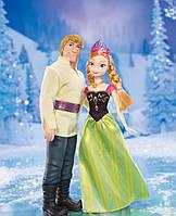 Ляльки Ганна і Крістофф «Холодне Серце» Frozen (Disney Frozen Anna and Kristoff Doll, 2-Pack), фото 1