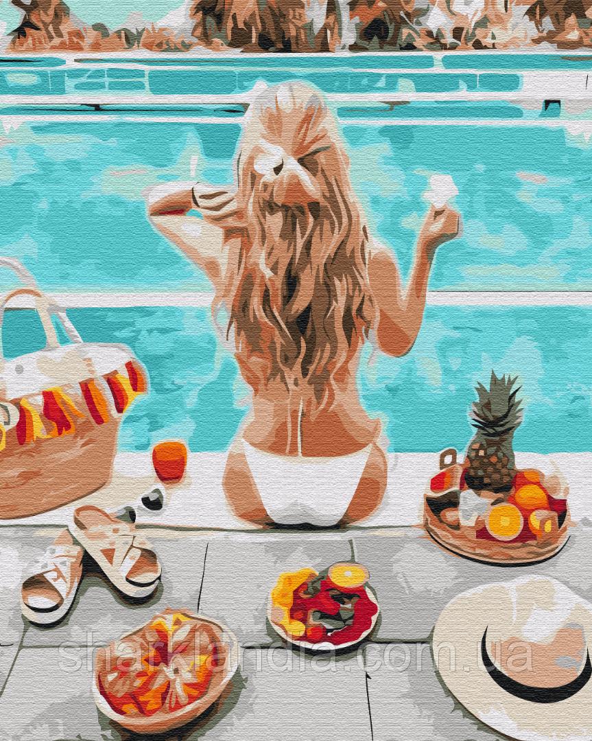Картина за номерами Літні вихідні 40*50см Brushme Розмальовки