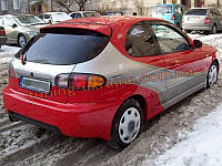 Задний спойлер Sport на Chevrolet Lanos Hatchback (ZAZ Chance)