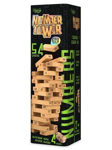 """Настільна гра """"Number Tower"""" рус NT-01"""