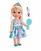 Малышка Эльза с Олафом и расческой Disney Frozen Toddler Elsa Doll