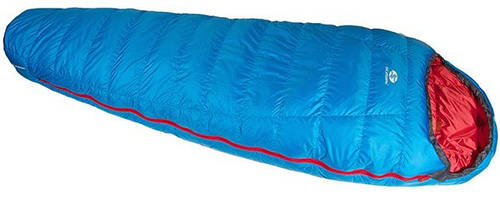 Удобный спальный мешок Sir Joseph Rimo II 1000/190/-13.5°C Blue/Red (Right) 922298 голубой