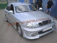 Передний бампер Lan из стеклопластика для Chevrolet Lanos (ZAZ Chance)
