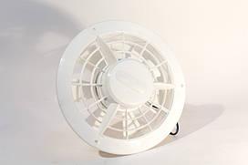 Вентелятор 1-2 швидкісний білий