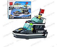 """Конструктор Brick 130 (457830) """"Полицейский катер"""", 95 деталей, Police 130, для юного полицейского, подарок"""