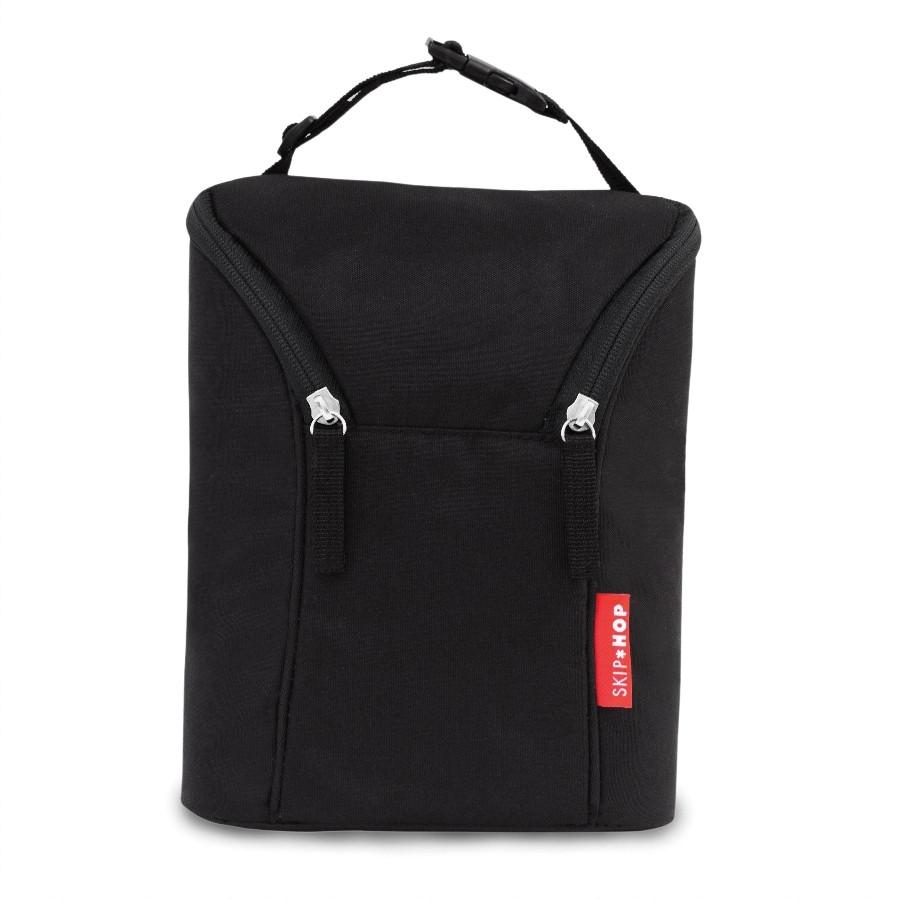 Skip Hop - Термо-сумка для бутылочек - Black
