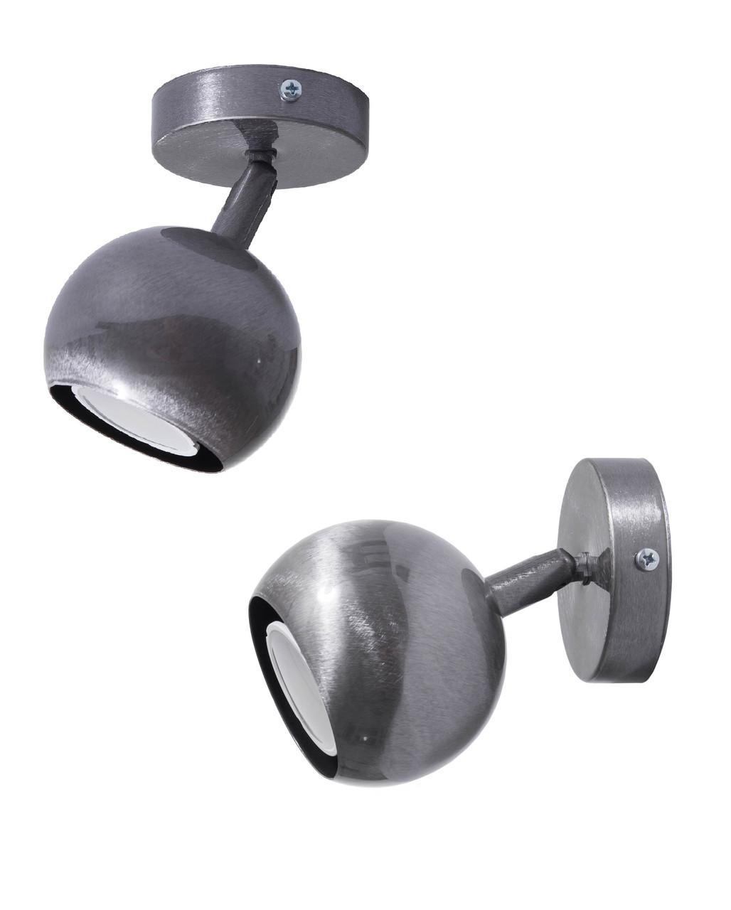 Светильник настенно-потолочный MSK Electric Core спот поворотный NL 11151-1 CR