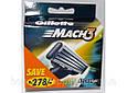 Кассеты для бритвы Gillette Mach3 12 шт Оригинал, фото 3
