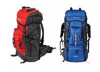 Рюкзак туристический с жесткой спинкой KING CAMP POLAR 45 L BLUE,RED