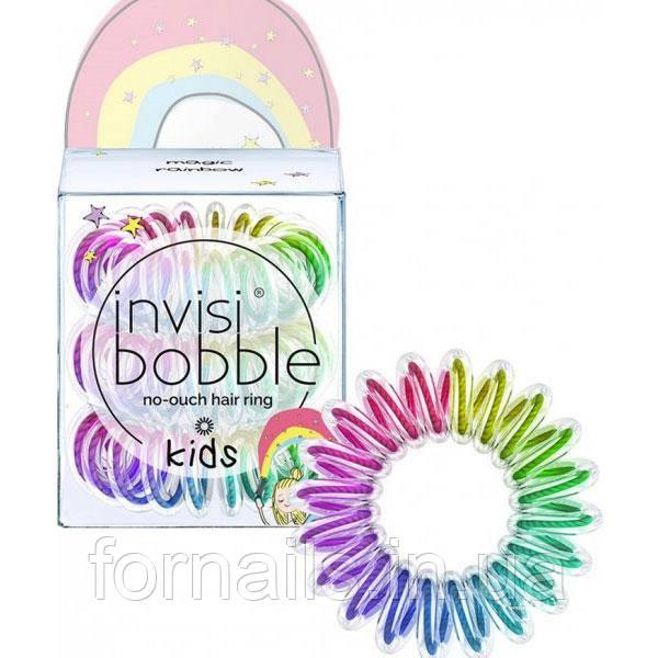 Резинка-браслет для волос INVISIBOBBLE SPRUNCHIE KIDS - Let's Chease Rainbows