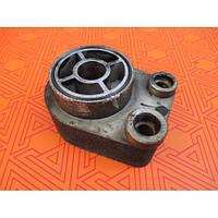 Масляный радиатор евр 4  для Renault Kangoo 1.5 dci. Теплообменник Рено Кенго (Кангу) 1.5 дци.