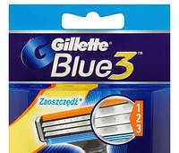 Сменные кассеты Gillette Blue 3 Cartridge 4 шт