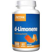 Апельсиновое масло, 1000 mg, Jarrow Formulas, 60 кап.