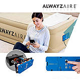 Надувне ліжко Двоспальне Bestway 67706, 152 х 203 х 46, вбудований електронасос Alwayzaire, фото 6