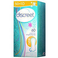 Гигиенические прокладки Discreet Водяная лилия 60шт