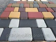 Тротуарна плитка Старе місто Сіра 25мм Еко