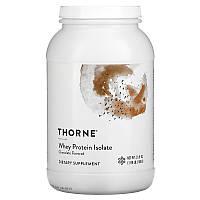 Сывороточный протеин, изолят, Whey Protein, Thorne Research, шоколад, 876 г